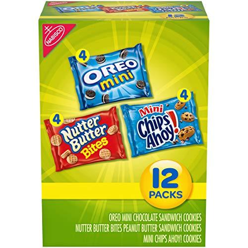Nabisco Mini Cookies Variety Pack with Oreo Mini, Mini Chips Aho...