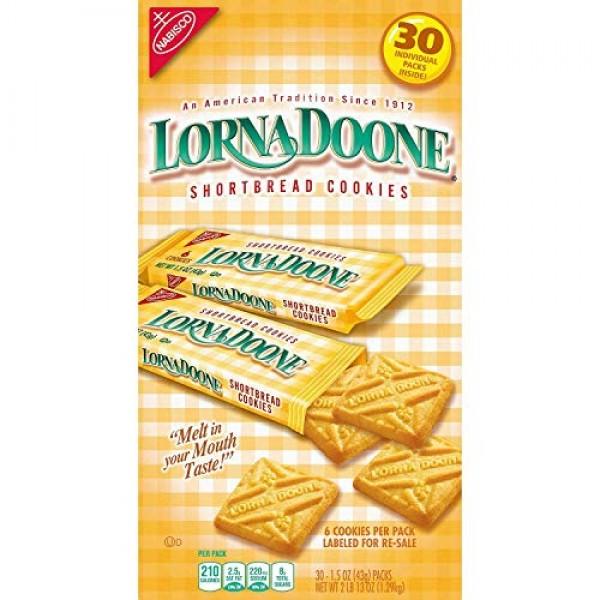Lorna Doone 30ct Cookies 1.5oz Each Pack