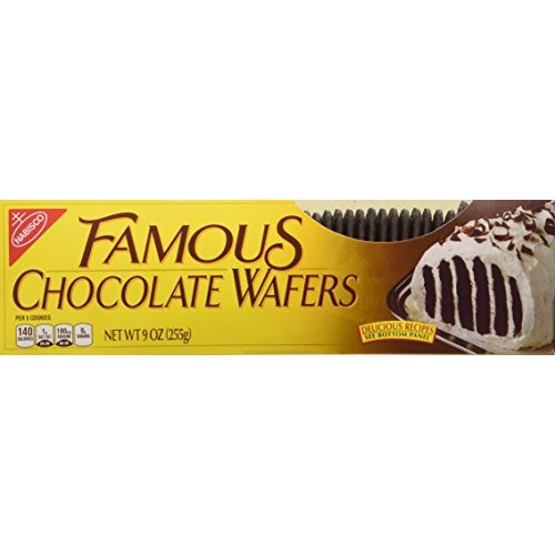 Nabisco, Famous Chocolate Wafers, 9oz Container Pack of 2