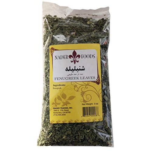NADER Herbs 5oz Fenugreek Leaves