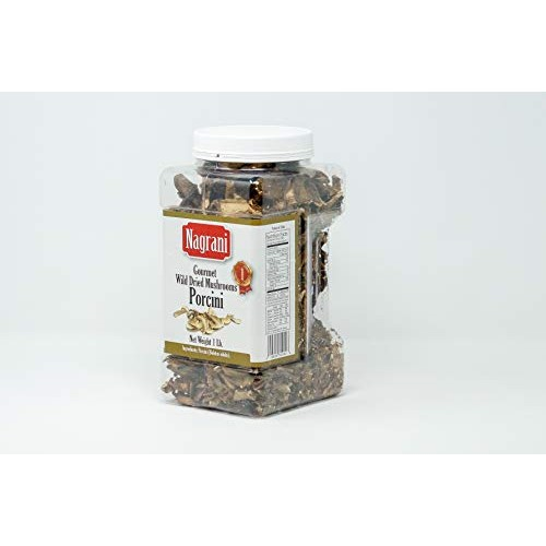 Nagrani AA Dried Porcini Mushrooms, 1 Pound