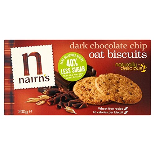 Nairns Dark Chocolate Chip Oat Biscuits - 200g