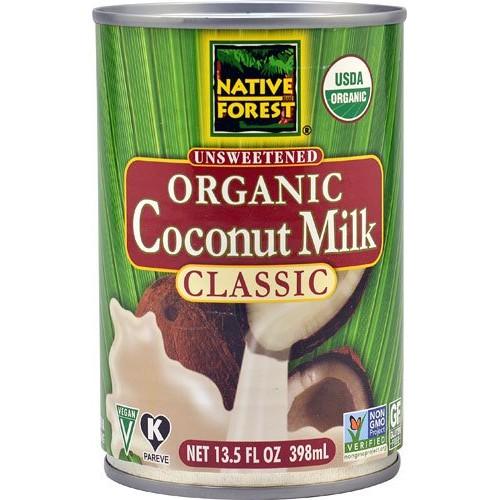 Native Forest Organic Coconut Milk Unsweetened -- 13.5 fl oz - 2 pc