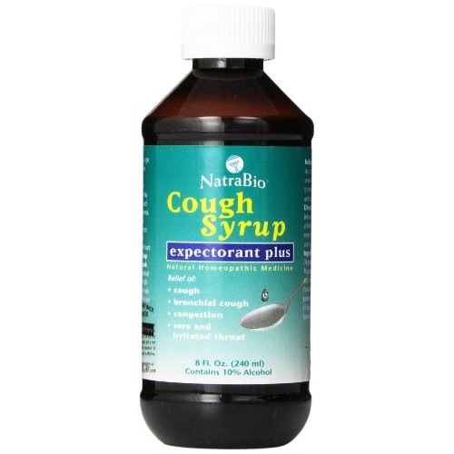 Natrabio Cough Syrup, Expectorant Plus, 8-Ounce Bottle