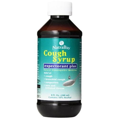 Natrabio Cough Syrup, Expectorant Plus, 8-Ounce Bottle