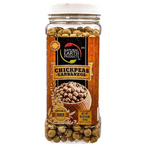 Chickpeas Garbanzo Beans - Good Source of Fiber - OU-Kosher Parv...