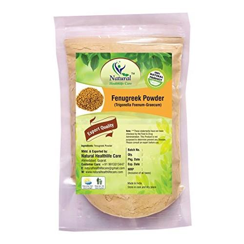 Natural Healthlife Care Fenugreek Powder Trigonella Foenum Powde...