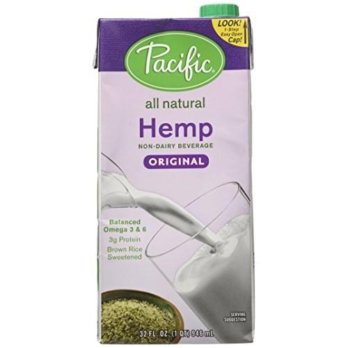 Pacific foods milk hemp orig, 32 oz