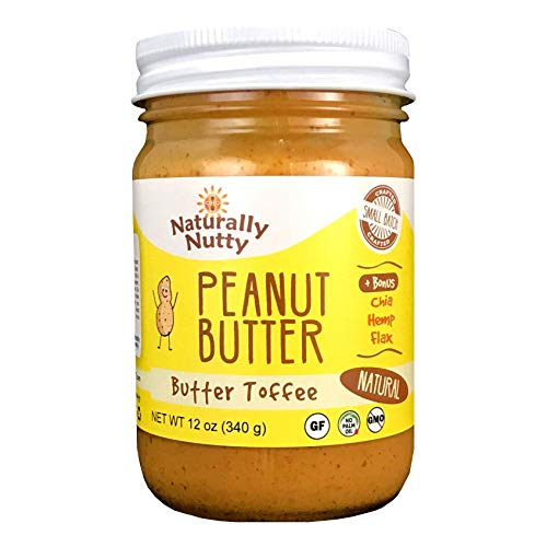 Naturally Nutty, Peanut Butter Butter Toffee, 12 Ounce
