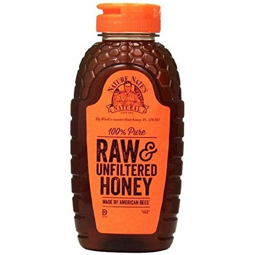 Nature Nates Raw Unfiltered Honey, 44 Ounce