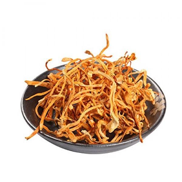 Cordyceps - Dried Cultivated Cordyceps By Nature Tea 04 oz