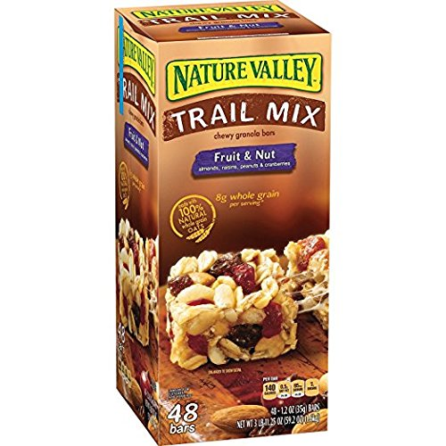 Nature Valley Fruit & Nut Chewy Trail Mix Granola Bars 48 ct. ...
