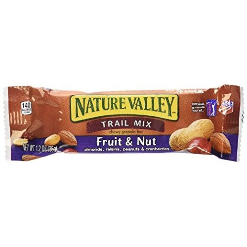 Nature Valley Chewy Trail Mix Fruit and Nut Bars Pack Of 60