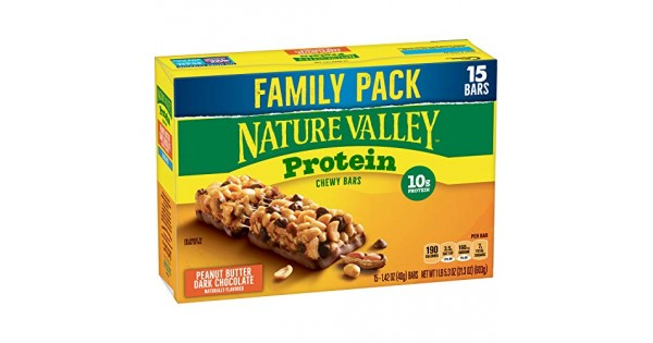 Nature Valley Protein Bar, Gluten Free, Granola Bar ...