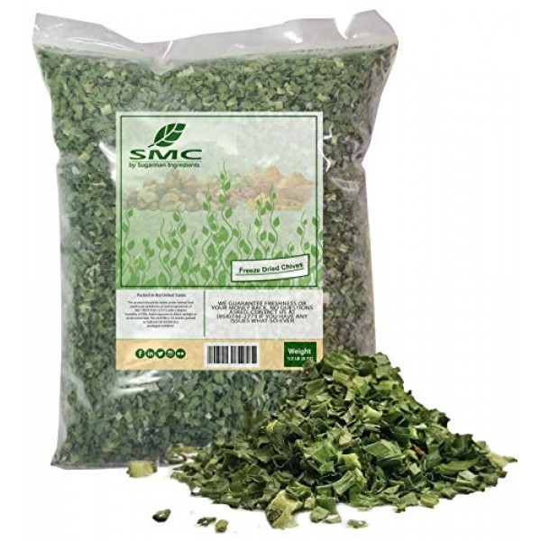 Kosher Chives-Freeze Dried HALF POUND-Heat Sealed for Freshness ...