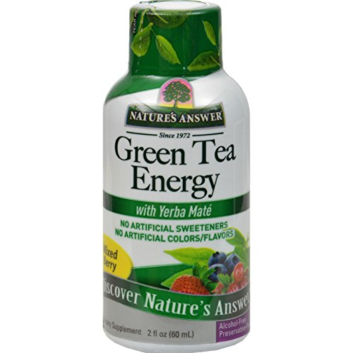 Natures Answer Green Tea Energy Display Center Case, 12 Count