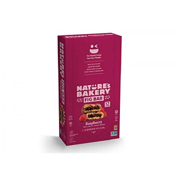 Natures Bakery Whole Wheat Fig Bar, Vegan + Non-GMO, Raspberry ...
