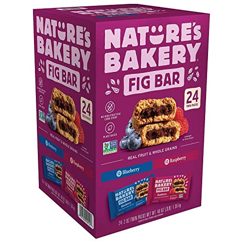 Natures Bakery Stone Ground Whole Wheat Fig Bar 24 Twin Packs 2...