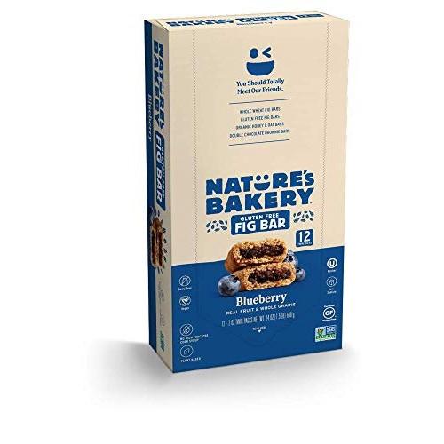 Nature's Bakery Gluten Free + non-GMO + Vegan, Fig Bars,