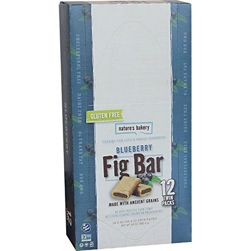 Natures Bakery Gluten Free Fig Bars - Blueberry - 12-2 oz Twin ...