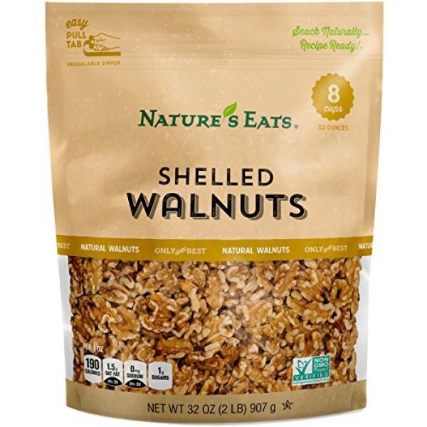 Natures Eats Walnuts, 32 Ounce