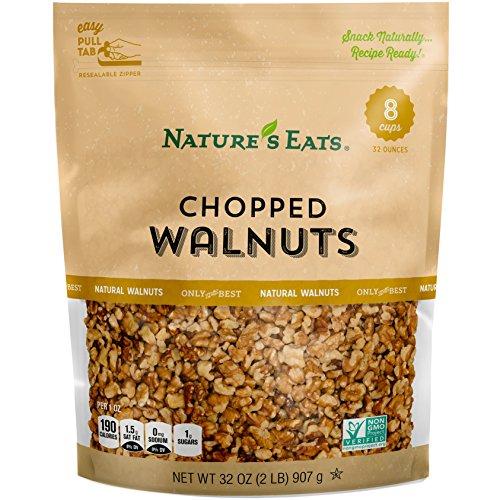 Natures Eats Chopped Walnuts, 32 Ounce