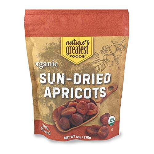 Natures Greatest Foods, Organic Turkish Sun-Dried Apricots, Res...