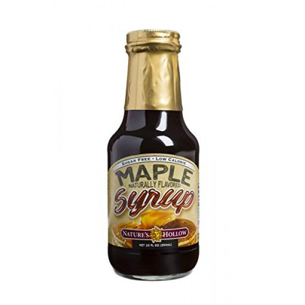 Natures Hollow, Sugar-Free Maple Flavored Syrup, Non GMO, Keto ...