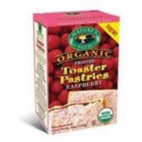 Natures Path Frosted Raspberry Toaster Pastry 6X11 Oz.