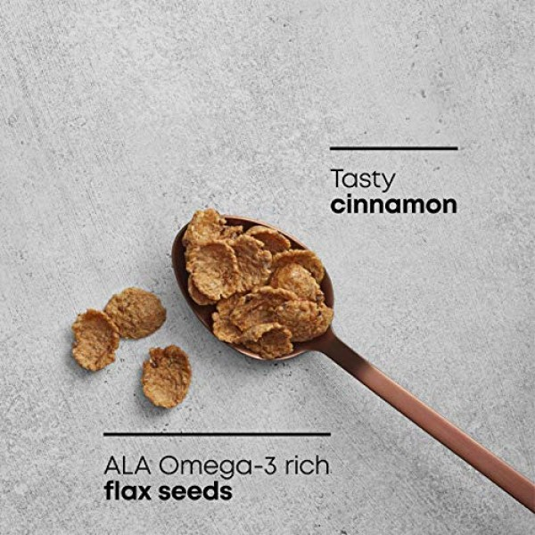 Natures Path Flax Plus Cinnamon Flakes Cereal, Healthy, Organic...