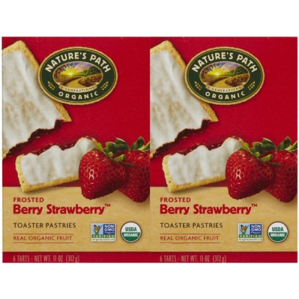 Natures Path Frosted Toaster Pastry - Strawberry - 11 oz - 6 ct...
