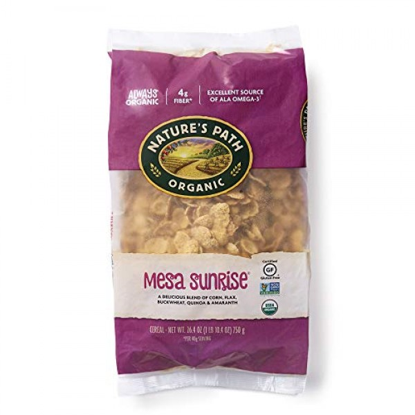 Natures Path Mesa Sunrise Cereal, Healthy, Organic & Gluten Fre...