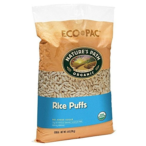Natures Path Organic - Cereal Rice Puffs - 6 oz (pack of 2)