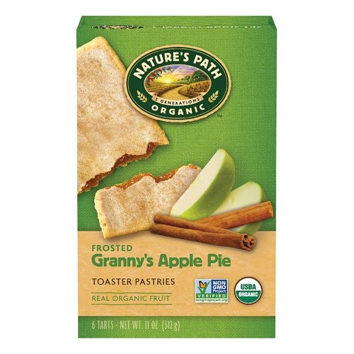 Natures Path Organic Frosted Toaster Pastries Grannies Apple Pi...
