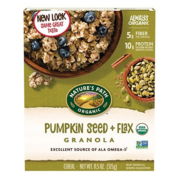 Natures Path Organic - Granola Flax Plus Pumpkin - 11.5 oz.
