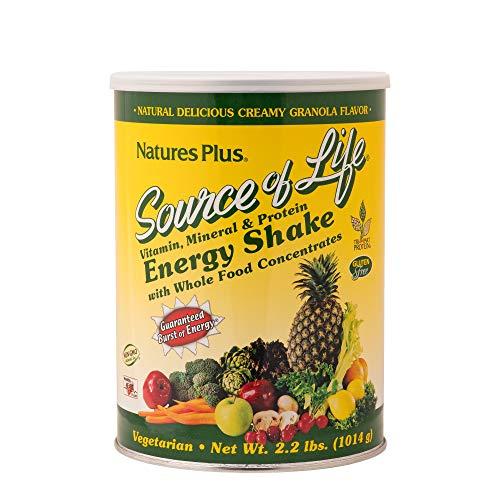 NaturesPlus Source of Life Energy Shake - 2.2 lbs Multivitamin, ...