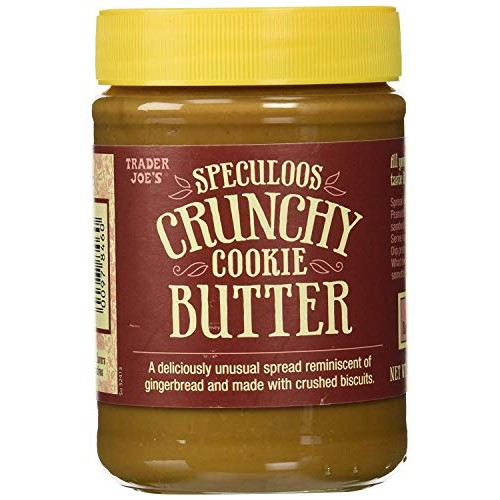 Trader Joes Speculoos Crunchy Cookie Butter - 2 Pack