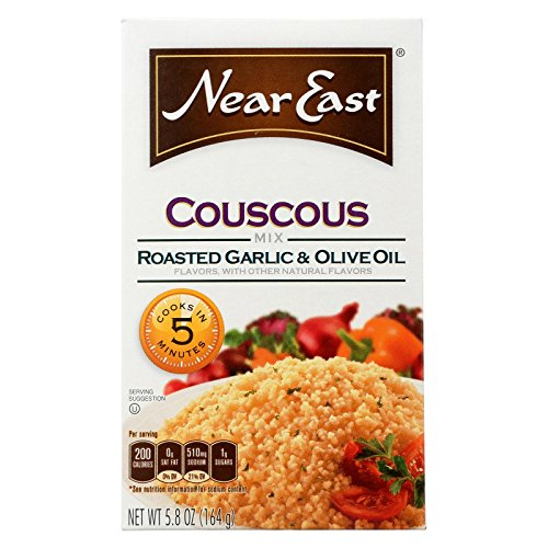 Near East, Couscous Roasted Garlic And Olive Oil, 5.8 Ounce