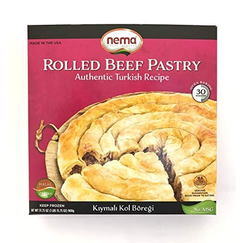 Nema Rolled Beef Pastry