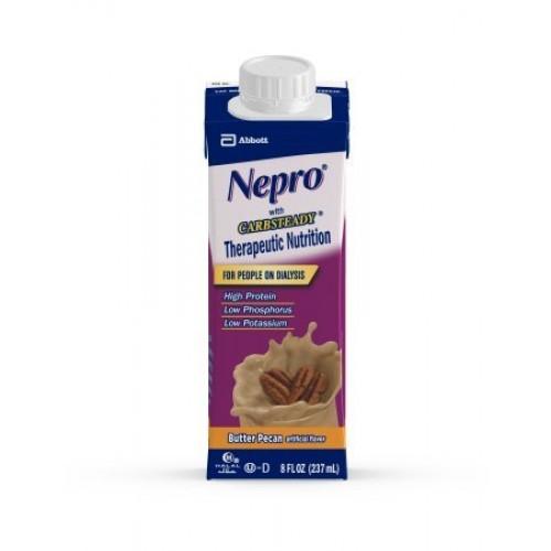 Nepro Butter Pecan, 8 Ounce Recloseable Carton, Abbott 64798 - C...