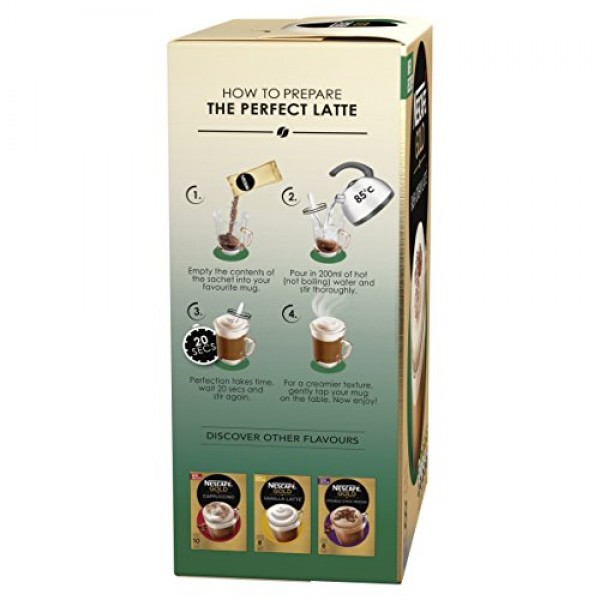 Nescaf? Caf? Menu Irish Cream 8 Sachets Pack of 6, Total 48 Sac...