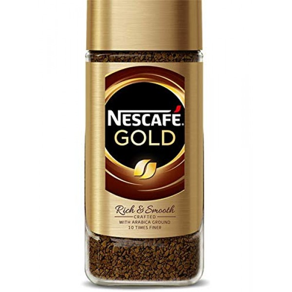 Nescafe Gold Blend Instant Coffee - 200g - Pack of 2 200g x 2
