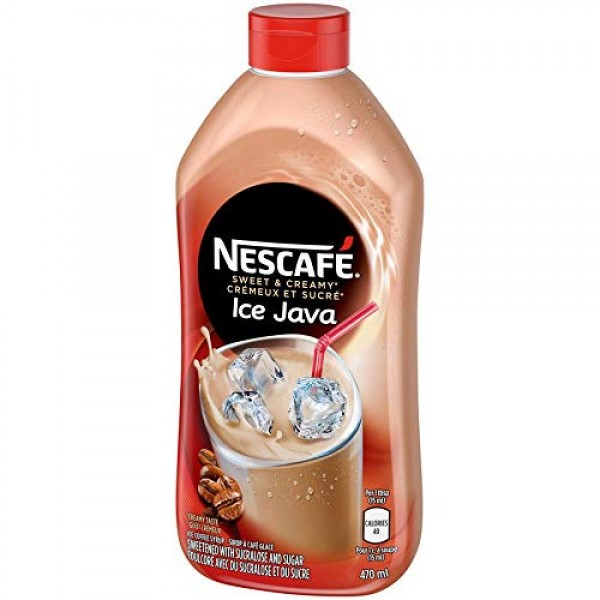 Nescafe Ice Java Coffee Syrup 470ml - Imported from Canada Pack...