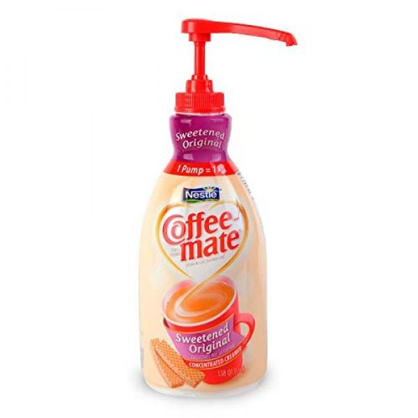 Coffee-mate 13799 Liquid Coffee Creamer, Sweetened Original, 150...