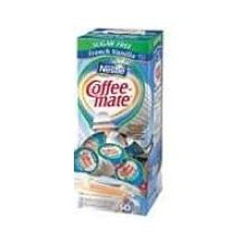 Coffee Mate Sugar Free French Vanilla Liquid - 50 count per pack...
