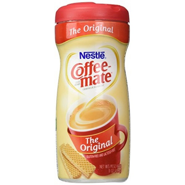 NESTLE COFFEE-MATE Coffee Creamer, Original, 11oz powder creamer...