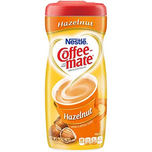 Coffee-Mate Coffee Creamer Hazelnut, 15 Ounce Pack of 6