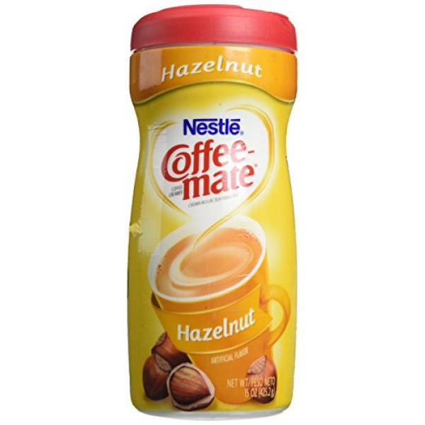 Coffee-Mate NES12345 Hazelnut Creamer Powder