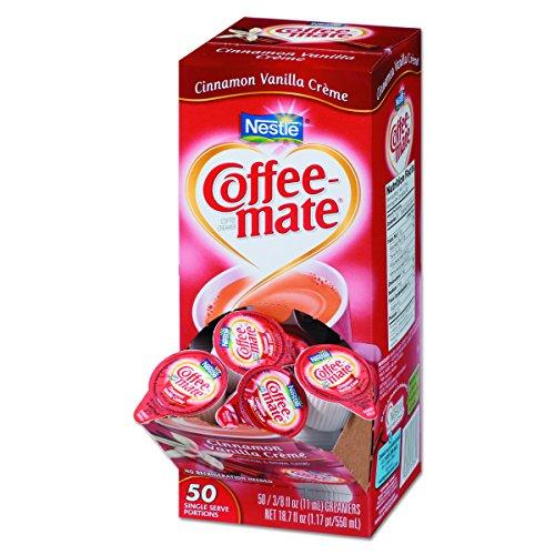 Coffee-mate 42498CT Liquid Coffee Creamer, Cinnamon Vanilla, 0.3...