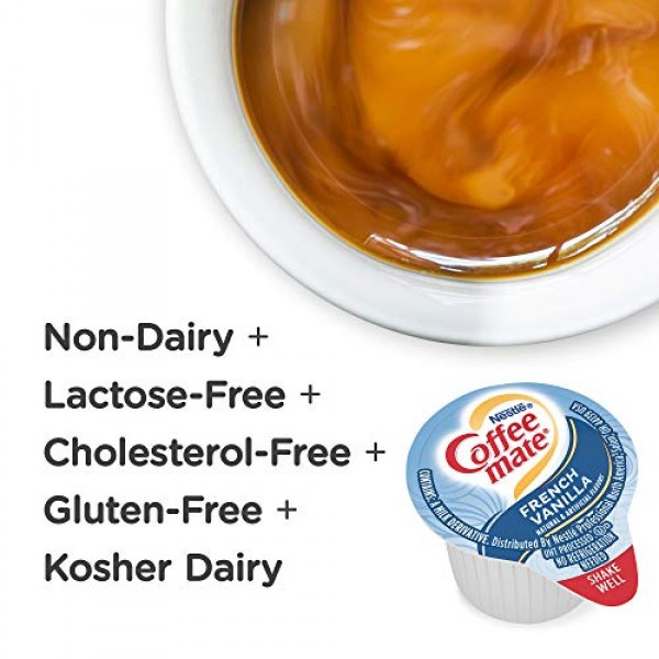 Nestle Coffee mate Coffee Creamer, French Vanilla, Liquid Creame...
